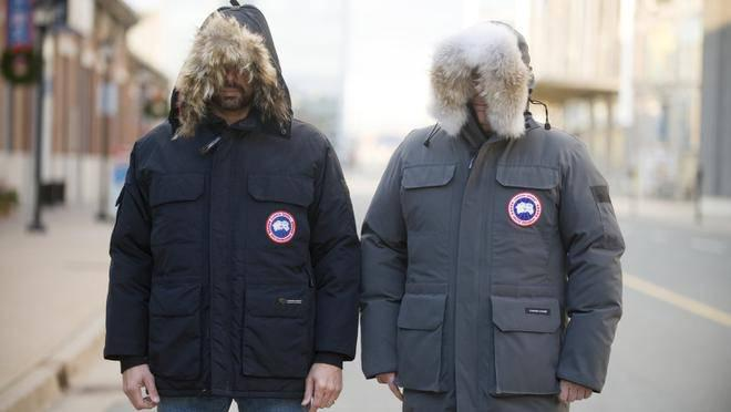 canada goose real vs fake