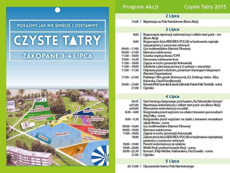 Akcja Czyste Tatry