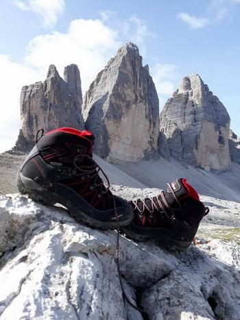 Kayland Ascent K GTX zdały egazamin w Alpach