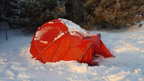 Test namiotu Helium Dome 3 marki Bergans of Norway