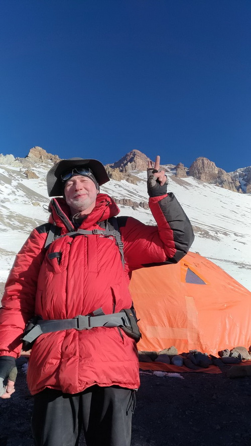 Parka Expedition od marki Bergans – test w Andach Portal
