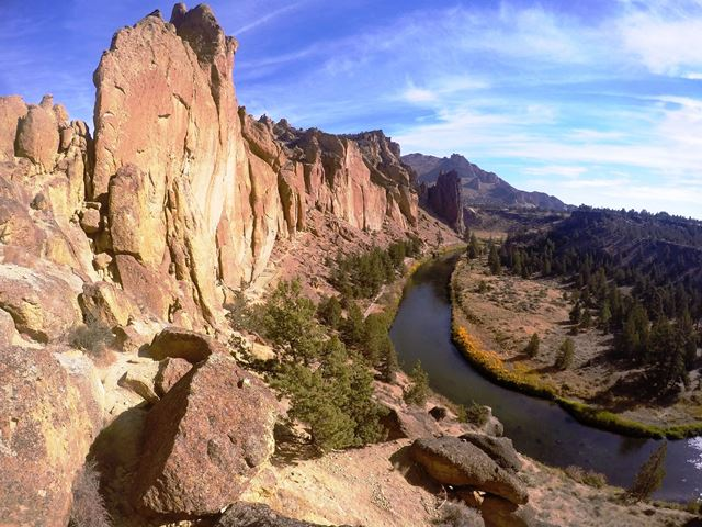Smith Rock_widok_na_skały