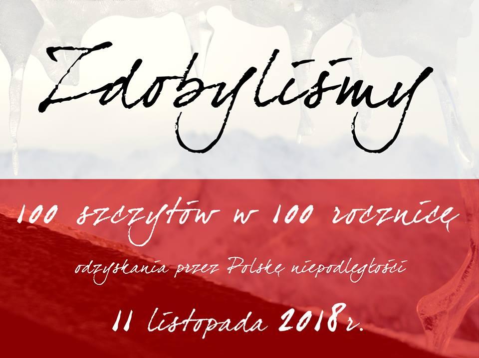 Zdobyliśmy 100 szczytów  w 100 rocznicę!